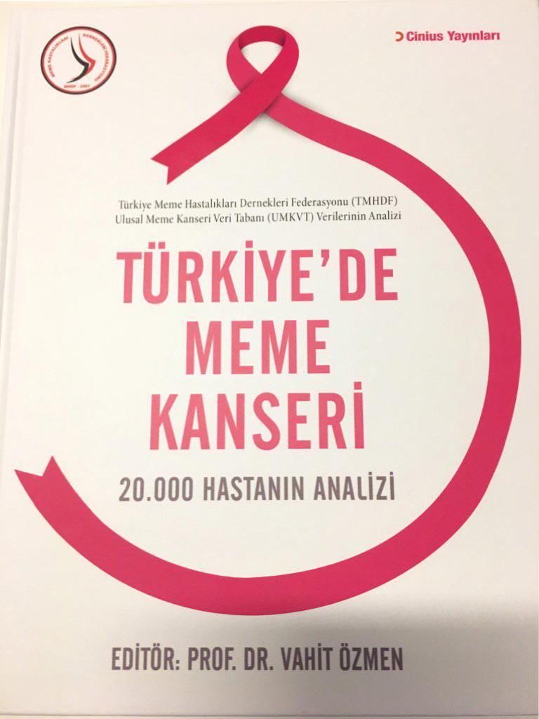 20 bin hastanın analizi Türkiye'de Meme Kanseri
